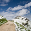 Mountain path - Stock Photo