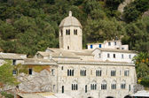 San Fruttuoso abbey — Stock Photo
