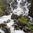 Waterfalls in Pre Saint Didier — Stock Photo