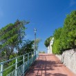 Stock Photo: GenovNervi promenade