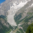 Mont Blanc - vertical - Stock Photo