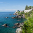 Coastline in Genova Nervi — Stock Photo