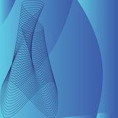 Muster auf dunkel blauem hintergrund — Stockvektor