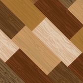 Multicolored parquet board — Stock Vector