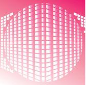 Vector spherical background — Stock Vector