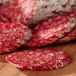 French salami — Stock Photo