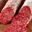 Stock Photo: French salami