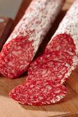 French salami — Stock Photo