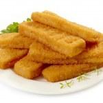 Fish fingers — Stock Photo