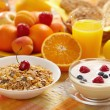Healthy breakfast — Stockfoto #3274580