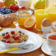 Healthy breakfast — Stock Photo #3301848