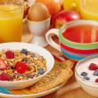 Stock Photo: Healthy breakfast