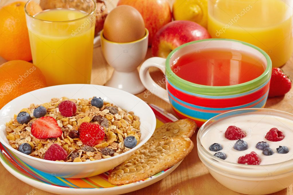 Healthy breakfast — Foto de Stock   #3322143