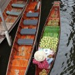 Stock Photo: Damnoek Saduak Floating Market, Thailand