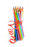 Colorfull pencils — Stock Photo