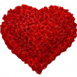 Valentines Day Rose Heart o — Stock Photo