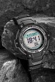 Electronic waterproof watch — Stock Photo