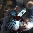 Stock Photo: Welder man