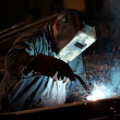 Welder man — Foto Stock