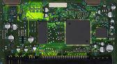 Close da placa de circuito eletrônico — Foto Stock