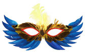 Feather mask — Stock Photo