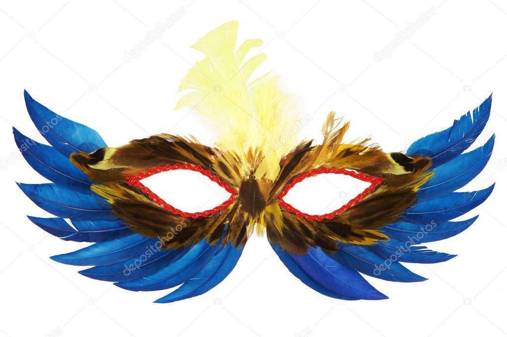 Как сделать перья на маску