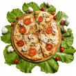 Royalty-Free Stock Photo: Pizza with vegetables