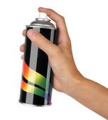 Graffiti spray can — Stock Photo