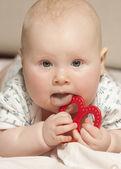 Ritratto di una bambina — Foto Stock