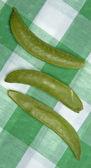 сахарный горох оснастки пикник — Стоковое фото