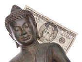 Money Spent on Buddhism — Stock Photo