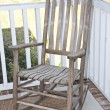 Rocking Chair on a Porch — Stock Photo