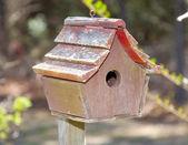 Worn Birdhouse — Stock Photo