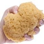 Hand Squeezing Sponge — Stock Photo #2781285