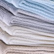 Neutral Colored Bath Towels — Stock Photo #2781304