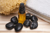 Massage-spa-szene — Stockfoto