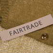 Stock Photo: Fair Trade Clothing