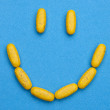 Stock Photo: Happy Pills