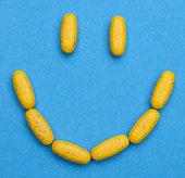 Happy Pills — Stock Photo