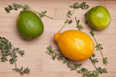 Citrus and Thyme — Stock Photo
