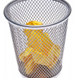 Full Trash Can — Stock Photo