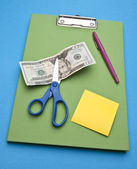 Cutting Costs — Stock Photo