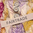 Fair Trade Clothing Concept — Stock Photo