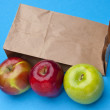 Stock Photo: Healthy School Lunch