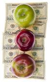 Náklady na zdravotnictví nebo školství — Stock fotografie
