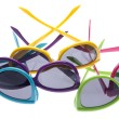 Vibrant Summer Sunglasses — Stock Photo #3033717