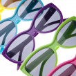 Vibrant Summer Sunglasses — Stock Photo #3033722