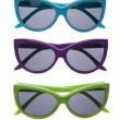 Vibrant Summer Sunglasses — Stock Photo