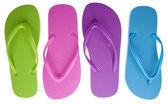Letní obuv — Stock fotografie
