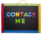 Contact Me — Stock Photo